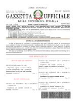 GAZZETTA UFFICIALE - Ministero della Difesa
