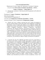 lingua e traduzione- lingua inglese I LM94 falco 2014_15