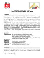 Politiche territoriali Newsletter n. 19/2014