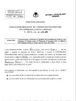 Autorizzazione costituzione in giudizio nel procedimento proposto