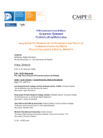 Download the full Programme - Florence School of Regulation