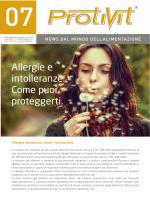 Allergie e intolleranze. Come puoi proteggerti. - Inter-Med