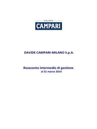 922.8 KB - Gruppo Campari