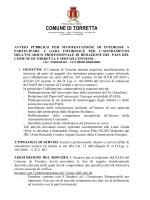 comune di torretta - Ordine Dottori Agronomi e Dottori Forestali