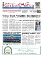 Prima pagina - Corriere di Novara