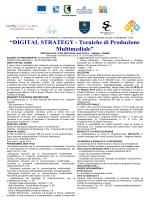 """""""DIGITAL STRATEGY - Tecniche di Produzione"""