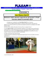 Qualificazioni agli Assoluti del 09-11-2014