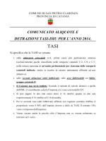 comunicato definitivo imu-tasi 2014