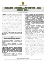 Guida IMU 2014 - Comune di Bologna