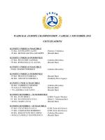 WADO KAI EUROPE CHAMPIONSHIP - VARESE 1
