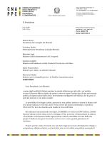 Lettera aperta inviata al presidente del Consiglio, Matteo Renzi, ai