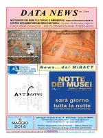 Maggio edizione completa - Centro Documentazione beni Culturali
