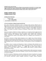 marco mario sioli curriculum vitae - Università degli Studi di Milano
