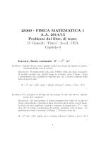 Soluzioni - Dipartimento di Matematica