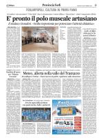 Corriere Romagna - giovedì 25 settembre 2014