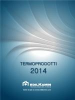Termoprodotti Edilkamin 2014