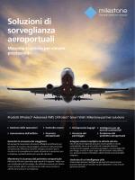 Soluzioni aeroporto volantino