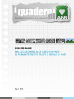 quaderni - Associazione Nazionale Bieticoltori