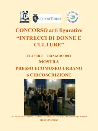"""CONCORSO arti figurative """"INTRECCI DI DONNE"""