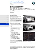 Informazioni sul prodotto Accessori Original BMW