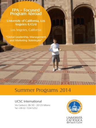 clicca qui - UCSC International
