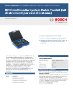 DCN multimedia System Cable Toolkit (kit di strumenti per cavi di