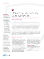 McAfee Server Security Suite Advanced