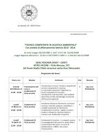 """""""Tecnico Competente in acustica Ambientale"""" biennio 2014-2016"""