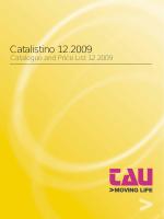 Catalistino 12.2009 - DST :: Distribuzione Sistemi Tecnologici