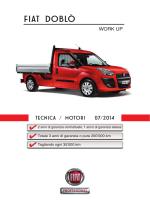 Caratt. Tecniche - FIAT Professional