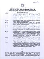 DECRETO ULTERIORE MODIFICA COMMISSIONE