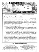 Foglietto 2014-2015_2 - Parrocchie di Grignasco e Ara