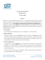 Disciplinare - Agenzia Industrie Difesa
