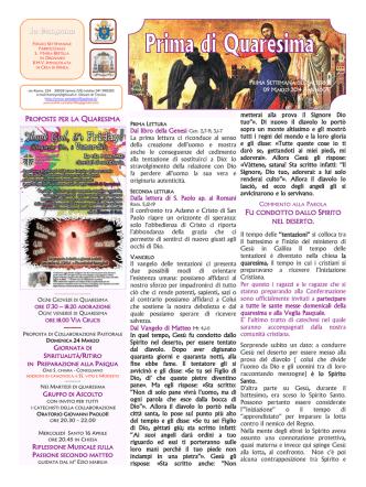 Campana 9 Marzo 2014 - Parrocchia di Santa Bertilla