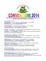 SCARICA LE CONVEZIONI (aggiornato* al 28/03/2014)