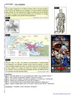 HISTOIRE : Les croisades - Mon cartable du net