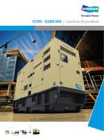 G150 - G200 IIIA | Gamma di prodotti