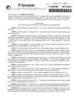 bando (n. IMEM-005-2014-PR)