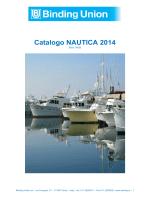 Catalogo - Binding Union srl