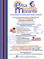 """scuola aperta - IPSSCT """"Elsa Morante"""""""