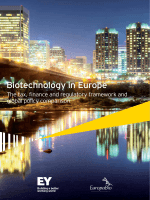 Biotechnology in Europe