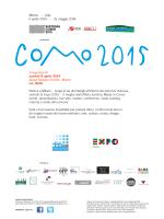 Calendario di tutti gli eventi Como2015