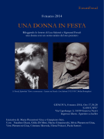 UNA DONNA IN FESTA - Studium Cartello