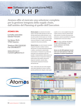 Atomos - Logistica Management