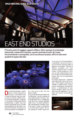 EAST END STUDIOS - Master Meeting