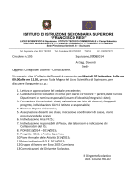 Circolare 195 - Istituto Istruzione Secondaria Superiore Francesco