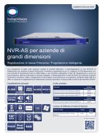 NVR-AS per aziende di grandi dimensioni