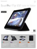 "F lip 10.1"" Case for Tablet"