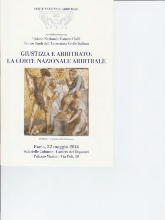 Brochure Convegno Corte Arbitrale