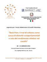 """""""Back Pain: il mal di schiena come causa di disturbi"""